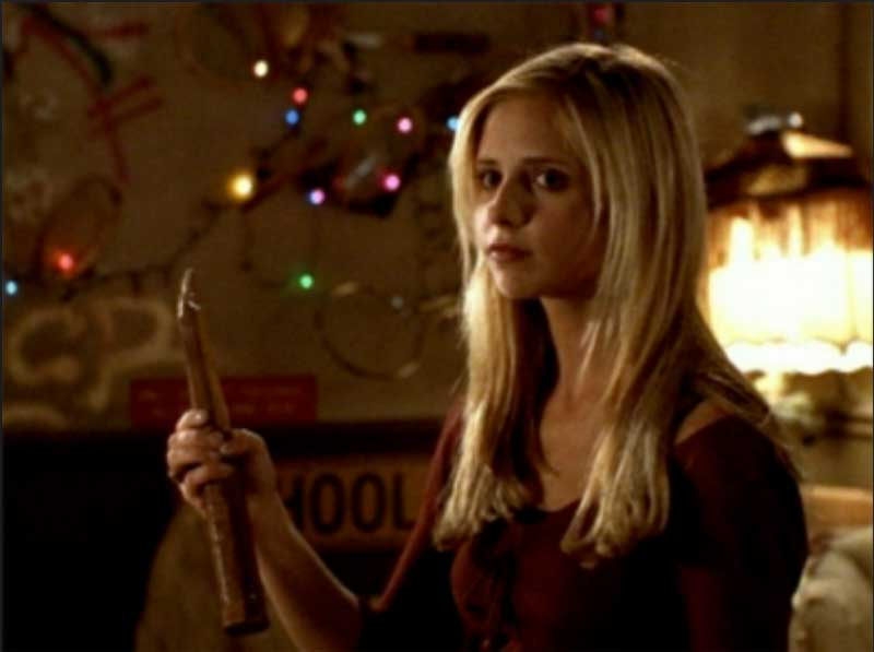 Sarah Michelle Gellar in Buffy the Vampire Slayer