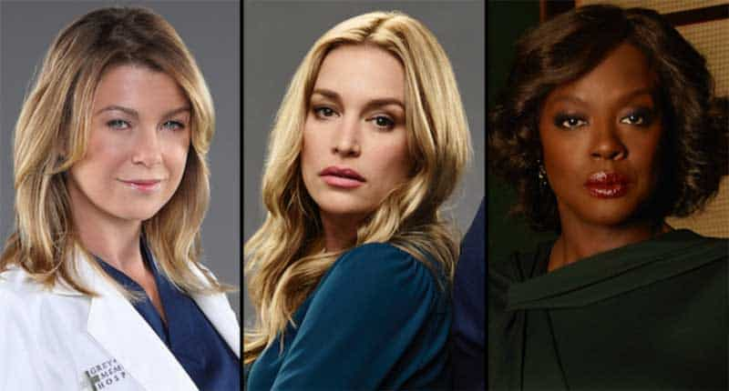 Ellen Pompeo, Piper Perabo and Viola Davis from ABC Thursday night lineup