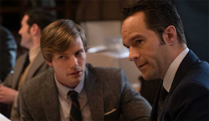 Hunter Parrish and Chris Diamantopoulos in Good Girls Revolt