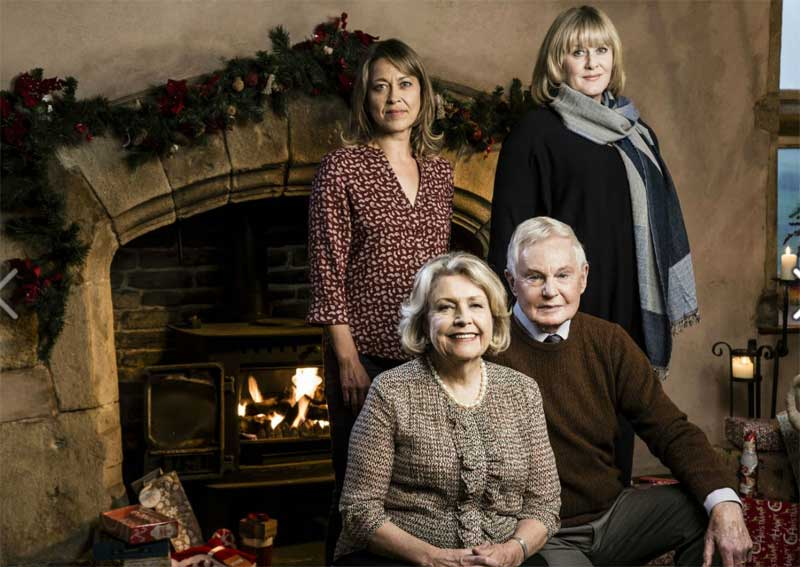 Anne Reid, Derek Jacobi, Nicola Walker and Sarah Lancashire in Last Tango in Halifax