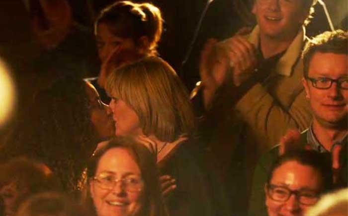 Lorraine Burroughs and Sarah Lancashire in Last Tango in Halifax