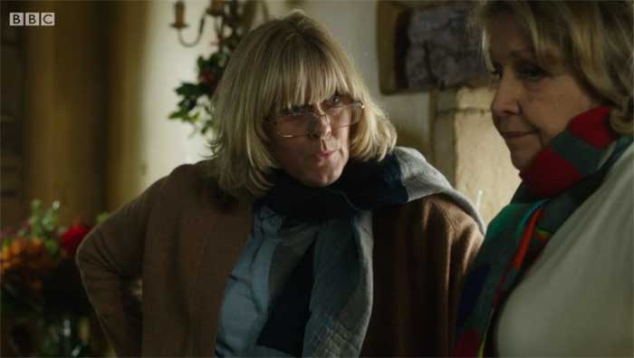 Sarah Lancashire and Anne Reid in Last Tango in Halifax