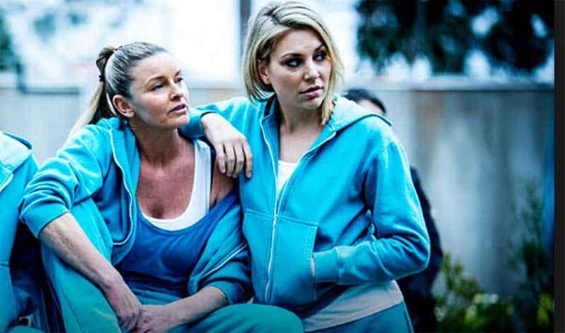 Tammy Macintosh and Kate Jenkinson in Wentworth