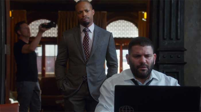 Cornelius Smith, Jr. and Guillermo Diaz in Scandal: Gladiator Wanted