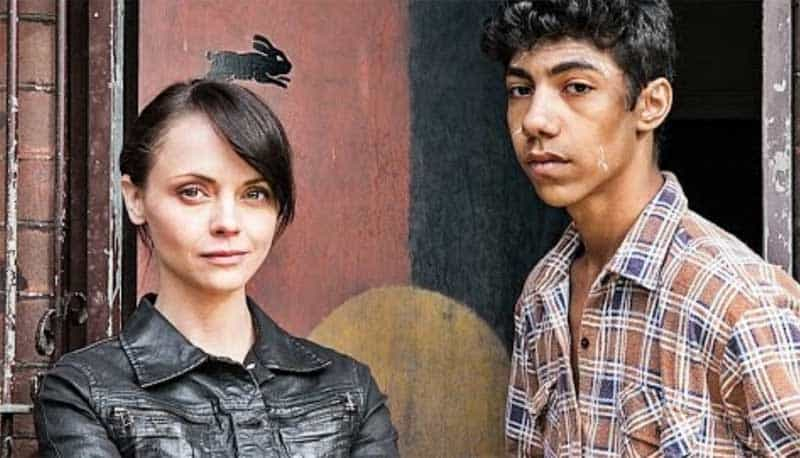 Christina Ricci and Hunter Page-Lochard in Around the Block
