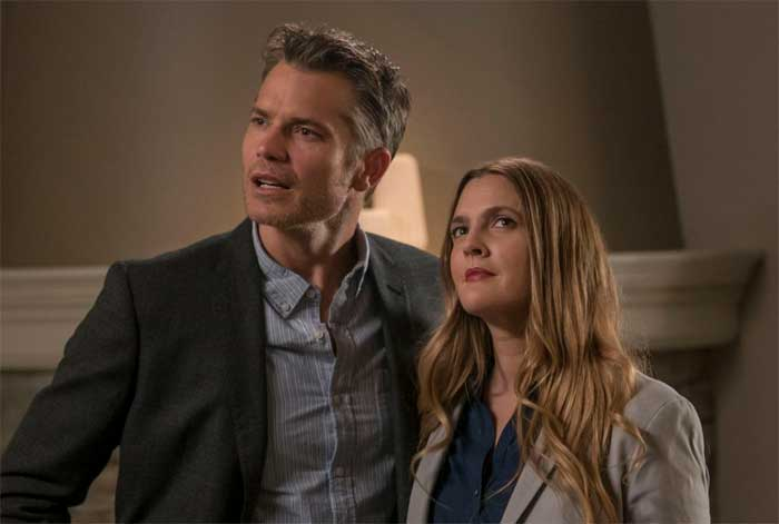 Timothy Olyphant and Drew Barrymore in Santa Clarita Diet