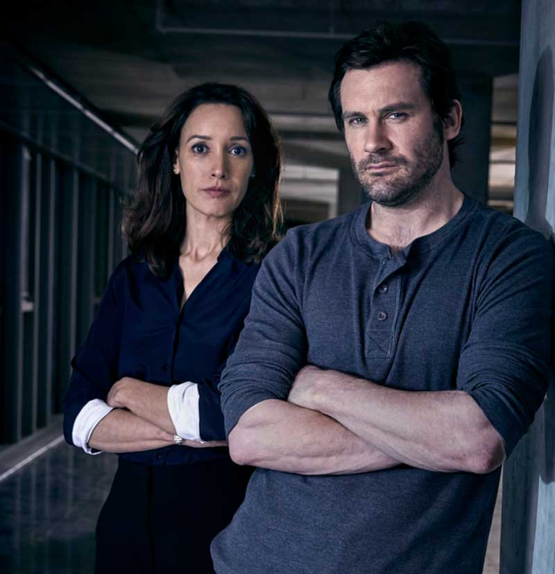 Jennifer Beals and Clive Standen in Taken