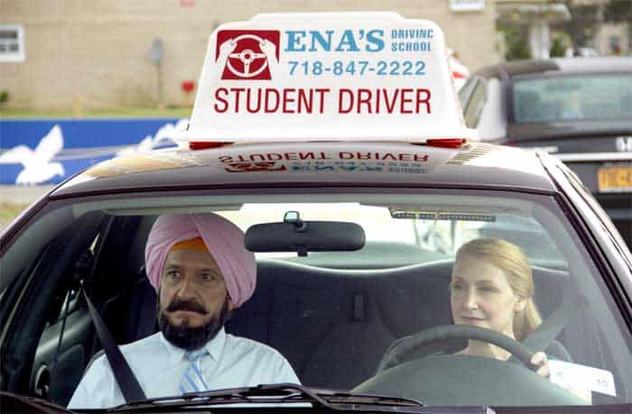 Ben Kingsley and Patricia Clarkson in Learning to Drive
