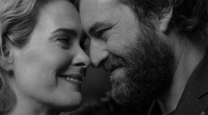 Sarah Paulson and Mark Duplass in Blue Jay