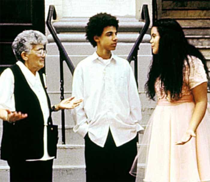 Altagracia Guzman, Silvestre Rasuk, and Krystal Rodriguez in Raising Victor Vargas