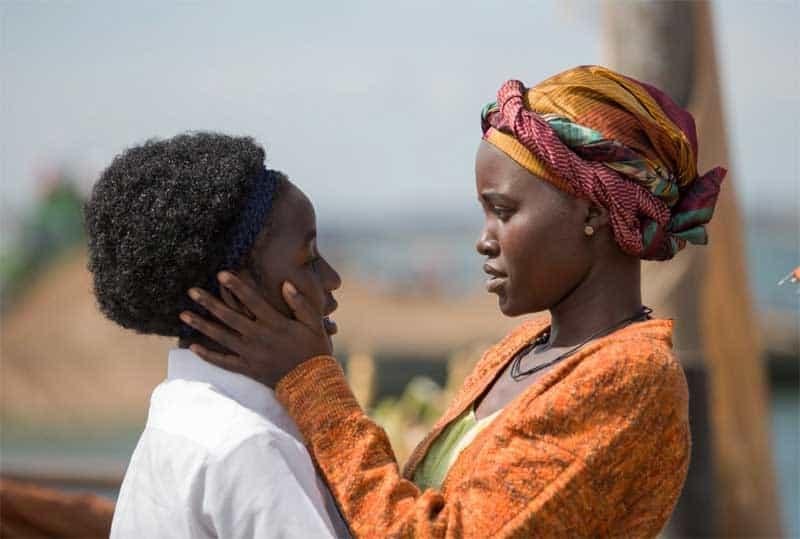 Lupita Nyong'o Lupita Nyong'o and Madina Nalwanga in Queen of Katwe