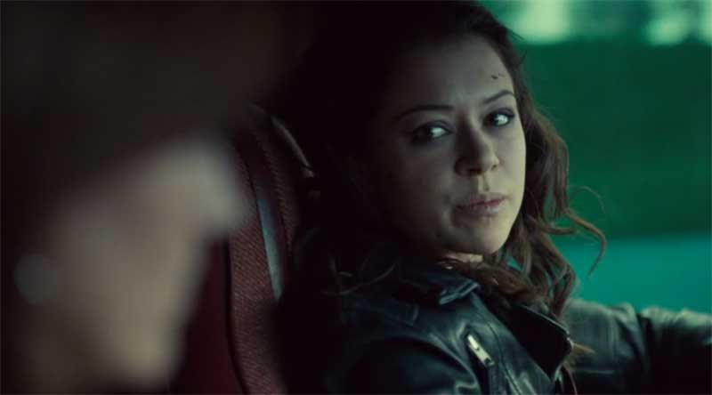 Tatiana Maslany as Sarah in Orphan Black