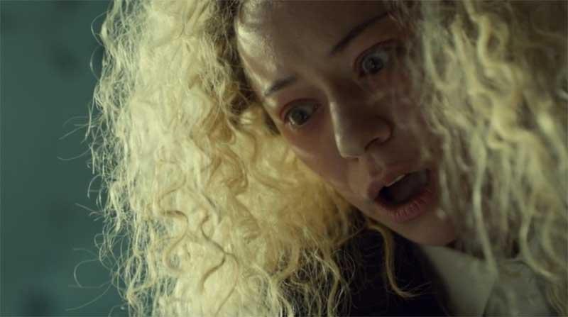 Tatiana Maslany as Helena in Orphan Black