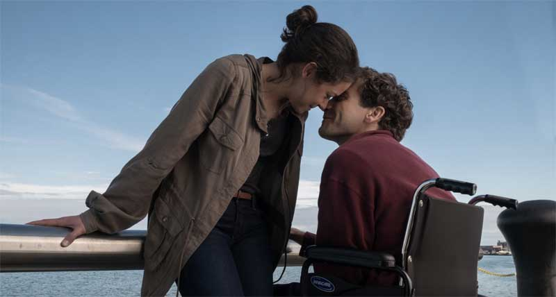 Tatina Maslany and Jake Gyllenhaal in Stronger
