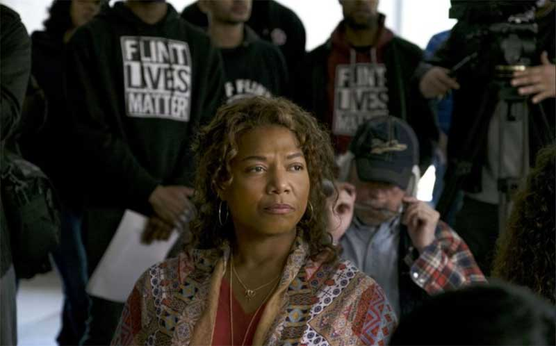 Queen Latifah in Flint