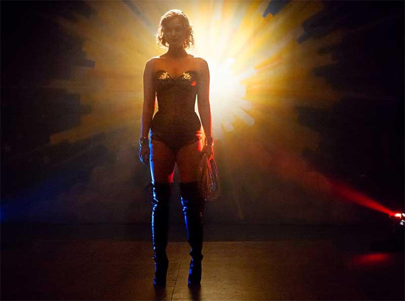 Bella Heathcote in Professor Marston and the Wonder Women