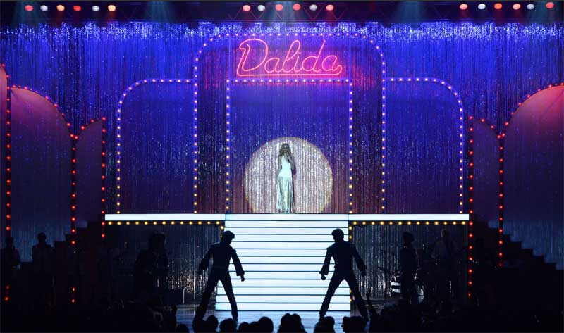 """Scene from """"Dalida"""" Photo Credit: Under The Milky Way"""