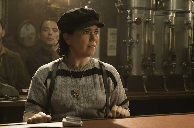 Alex Borstein in The Marvelous Mrs. Maisel
