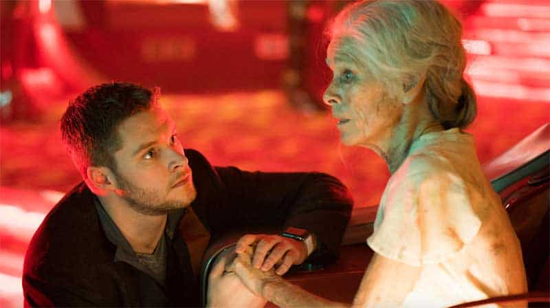 Geraldine Chaplin and Jack Reynor in Philip K. Dick's Electric Dreams