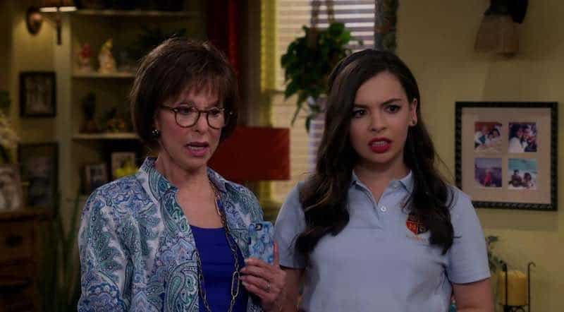 Rita Moreno and Isabella Gomez in One Day at a Time