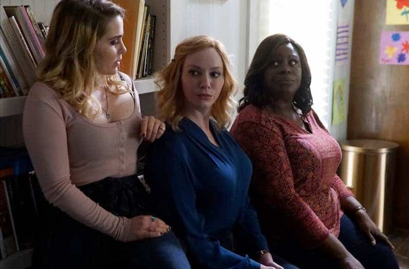 Christina Hendricks, Retta, and Mae Whitman in Good Girls