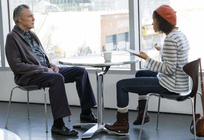 Christopher Walken and Gugu Mbatha-Raw in Irreplaceable You
