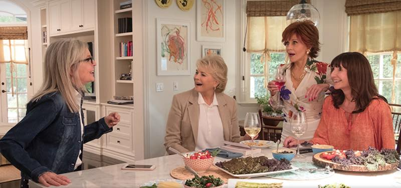 Diane Keaton, Candice Bergen, Jane Fonda, and Mary Steenburgen in Book Club
