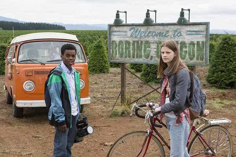 Jahi Di'Allo Winston and Peyton Kennedy in Everything Sucks