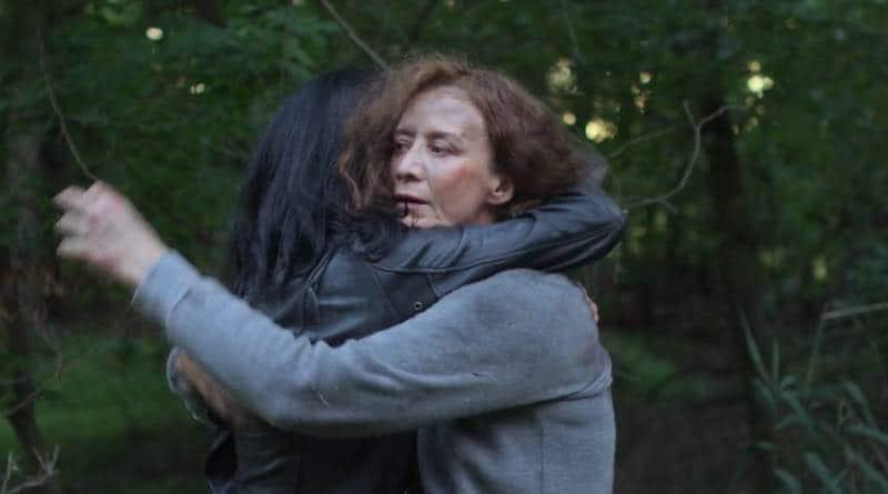 Krysten Ritter and Janet McTeer in Jessica Jones