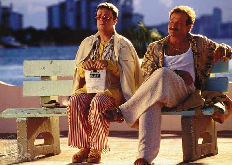 Robin Williams and Nathan Lane in The Birdcage