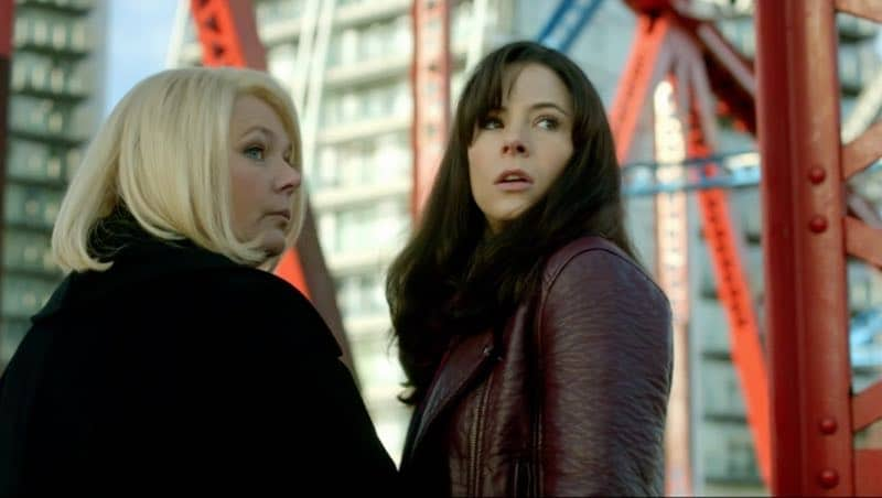 Joanna Scanlan and Elaine Cassidy in No Offence