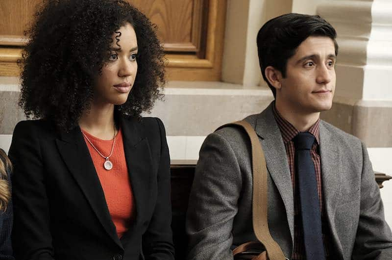 Jasmin Savoy Brown and Wesam Keesh in For the People