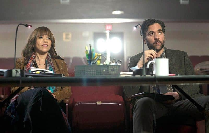 Rosie Perez and Josh Radnor in Rise