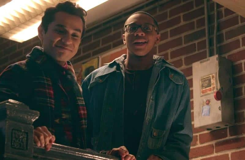 DeRon Horton and Rudy Martinez in Dear White People
