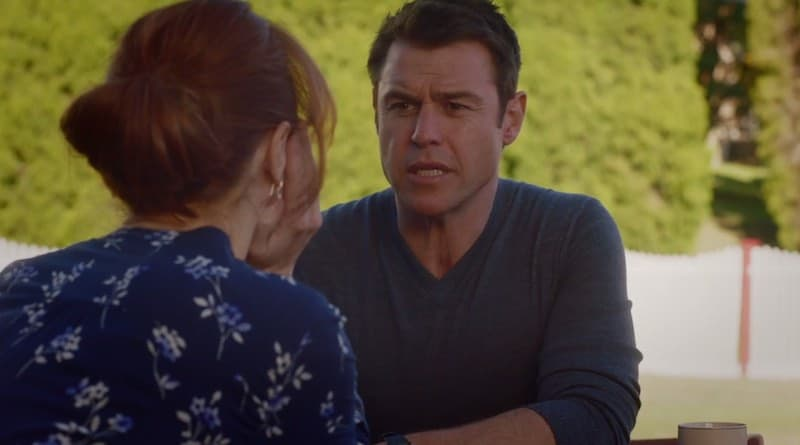 Hayley McElhinney and Rodger Corser in The Heart Guy (Doctor, Doctor)