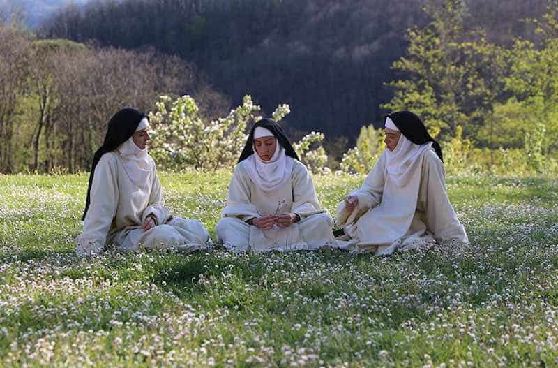 Alison Brie, Kate Micucci, and Aubrey Plaza in The Little Hours