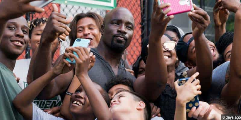 Mike Colter in Luke Cage