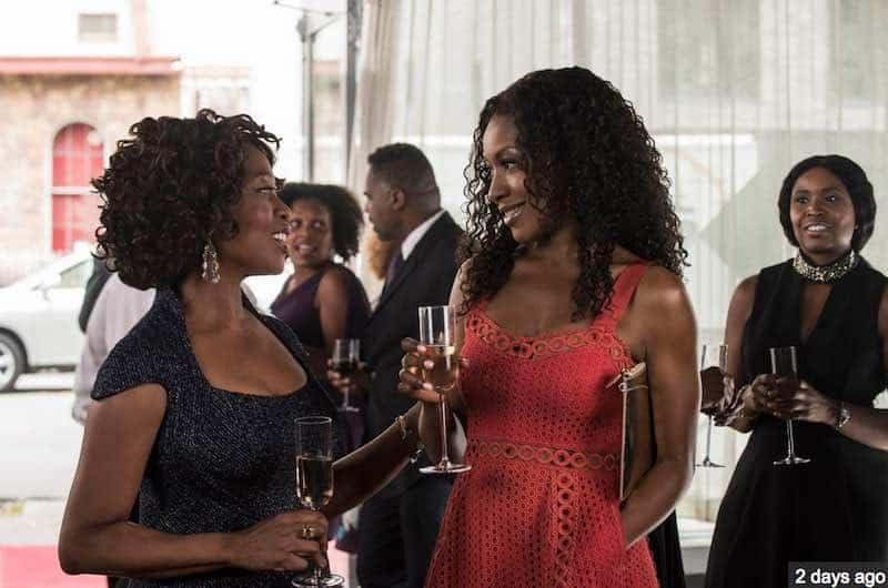 Alfre Woodard and Gabrielle Dennis in Luke Cage