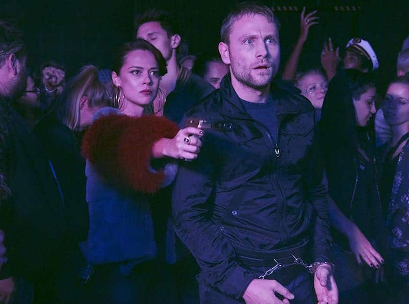 Max Riemelt and Valeria Bilello in Sense8