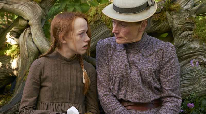 Amybeth McNulty and Geraldine James in Anne with an E