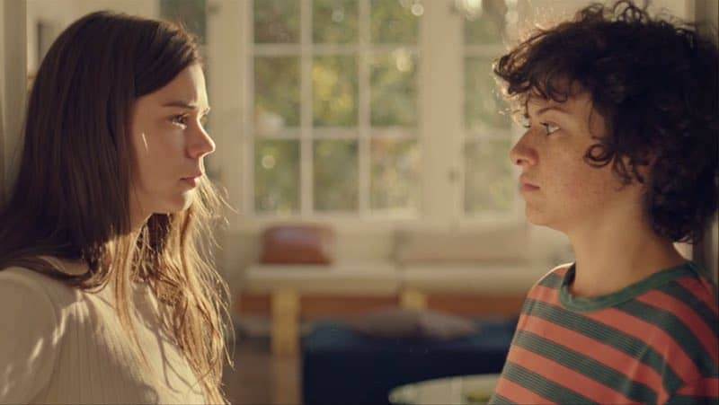 Alia Shawkat and Laia Costa in Duck Butter