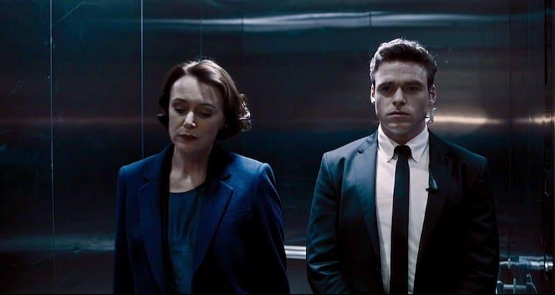 Keeley Hawes, Richard Madden in Bodyguard