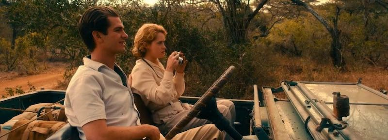 Andrew Garfield, Claire Foy in Breathe