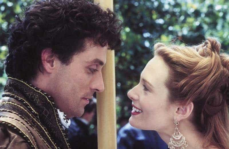 Catherine McCormack and Rufus Sewell in Dangerous Beauty