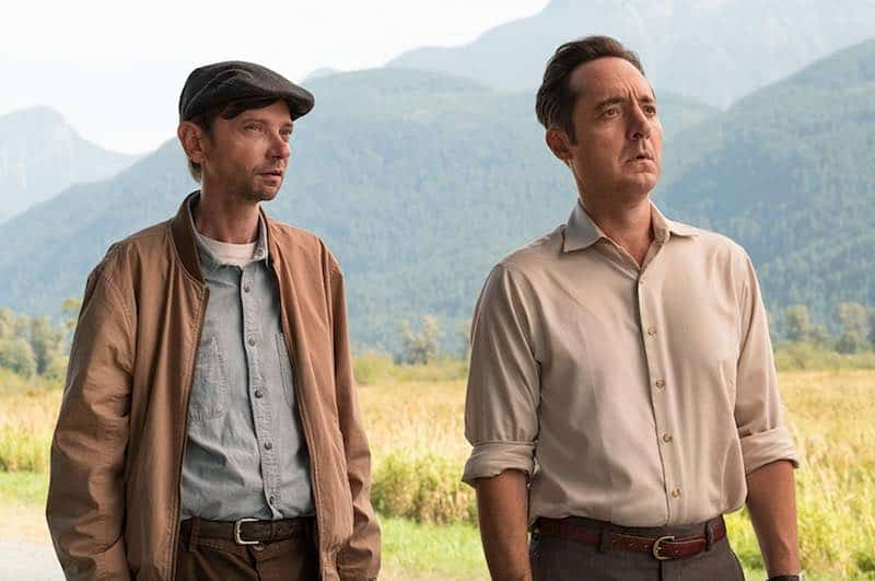 Brennan Brown and DJ Qualls in The Man in the High Castle