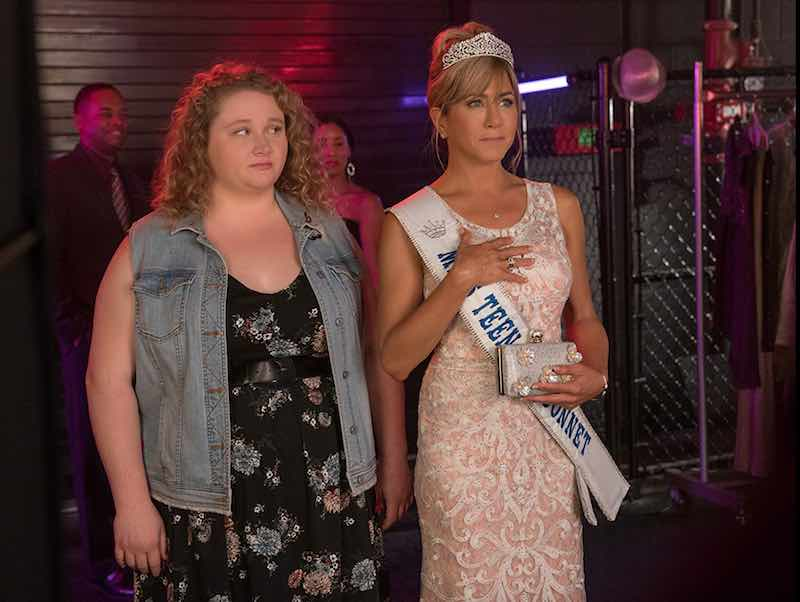 Danielle Macdonald and Jennifer Aniston in Dumplin'