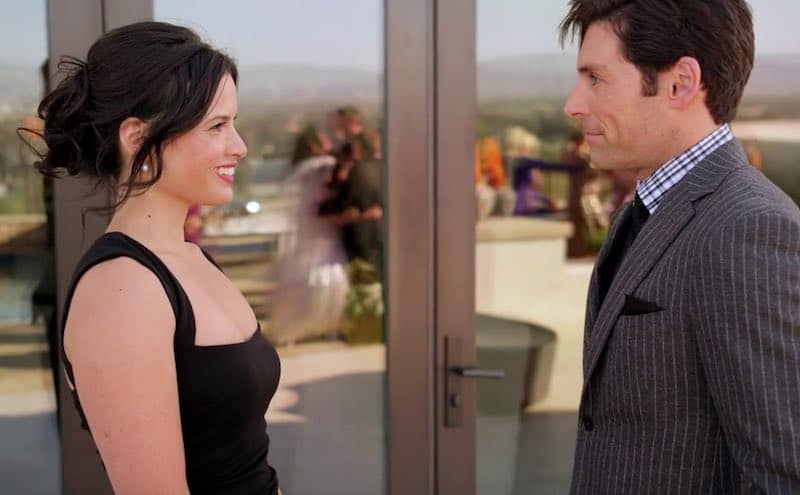 Katrina Law and Jordan Belfi in Snow Bride