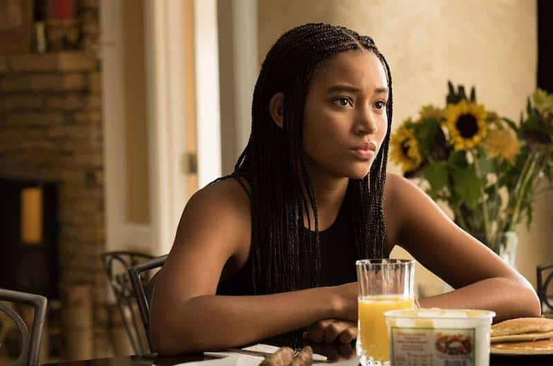 Amandla Stenberg in The Hate U Give