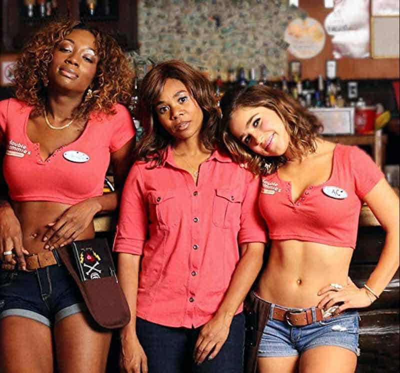 Shayna McHayle, Regina Hall and Haley Lu Richardson in Support the Girls