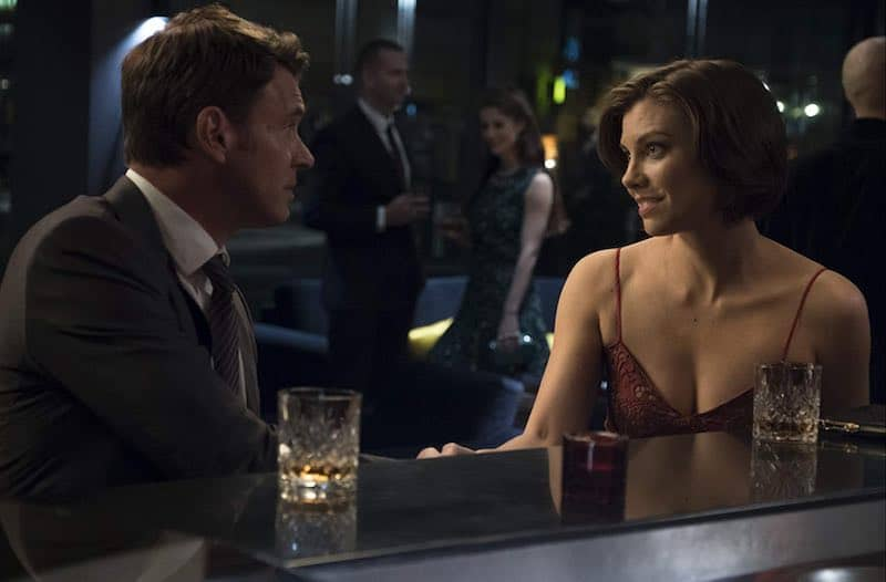 Scott Foley and Lauren Cohan in Whiskey Cavalier
